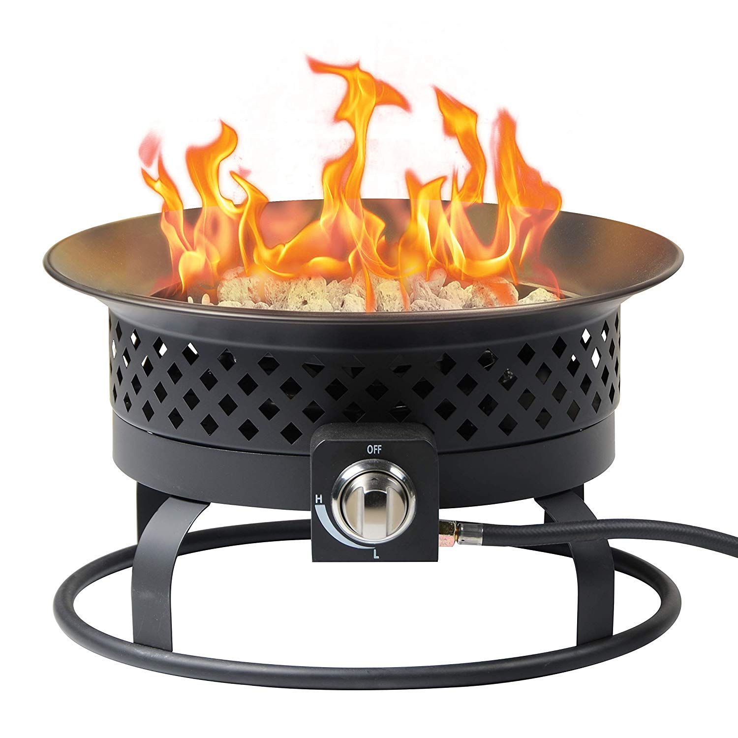 Review of Bond Bond Signature 18.5-in W 54000-BTU Bronze Portable Steel Fire Pit