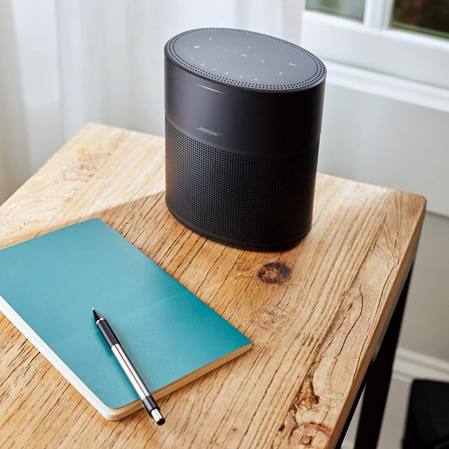 Review of Bose Home Speaker 300, with Amazon Alexa Built-in, Black