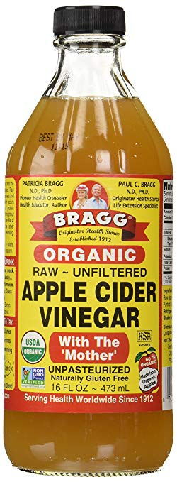 Bragg Organic Apple Cider Vinegar, Raw & Unfiltered, 32 Fl Oz