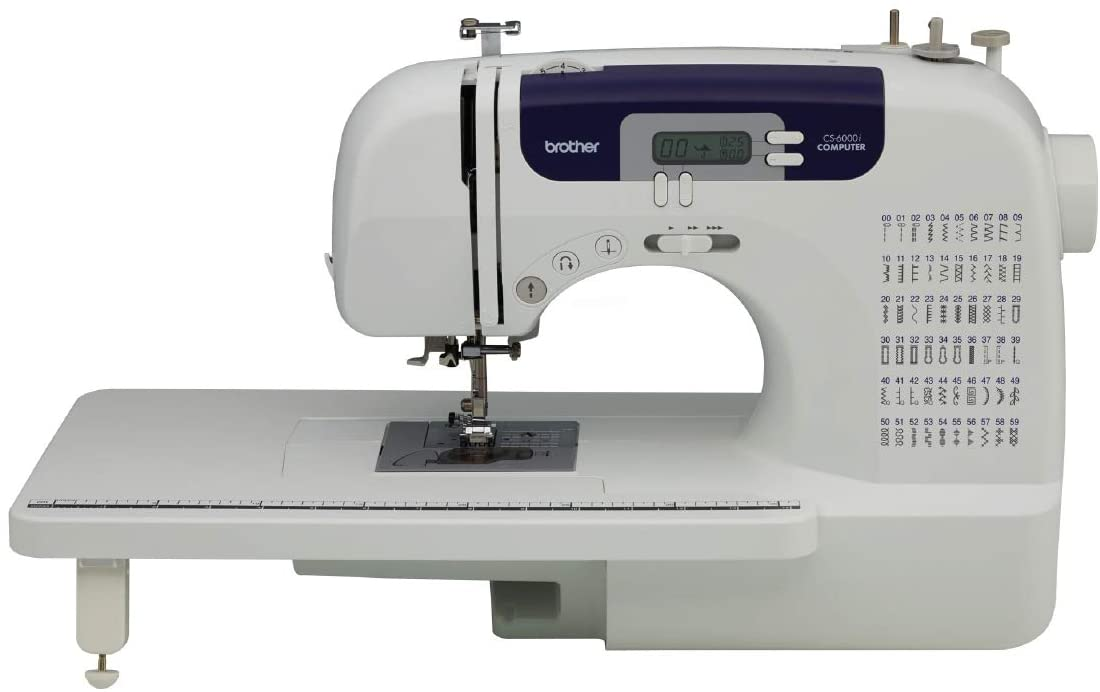 Review of Brother Sewing and Quilting Machine, CS6000i, 60 Built-in Stitches, 2.0
