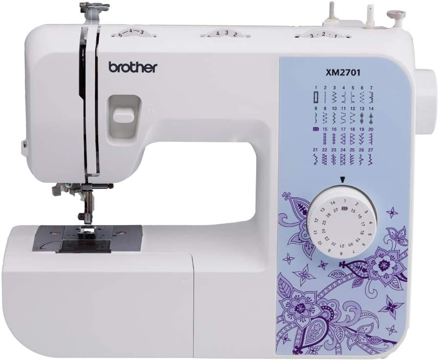 Review of Brother XM2701 Sewing Machine, Lightweight, Full Featured, 27 Stitches, 6 Included Feet