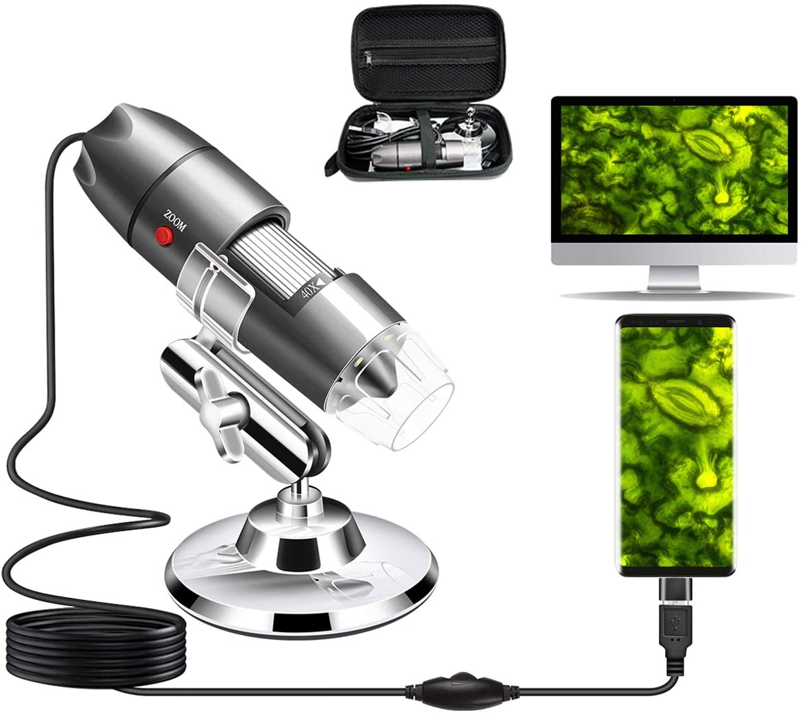 Review of Cainda Digital  Portable Microscope Camera - USB Microscope