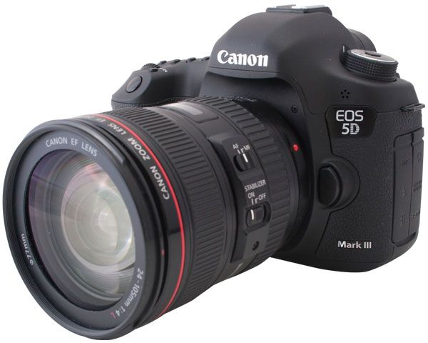 Review of Canon EOS 5D Mark III 22.3 MP Full Frame CMOS with 1080p Full-HD Video Mode Digital SLR Camera