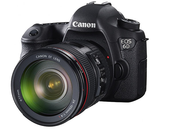 Canon EOS 6D 20.2 MP CMOS Digital SLR Camera with 3.0-Inch LCD and EF24-105mm IS Lens Kit - Reviews of Top 15 Mother's Day Gift Ideas for Active and Outdoorsy Moms