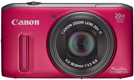 Review of Canon PowerShot SX260 HS 12.1 MP CMOS Digital Camera