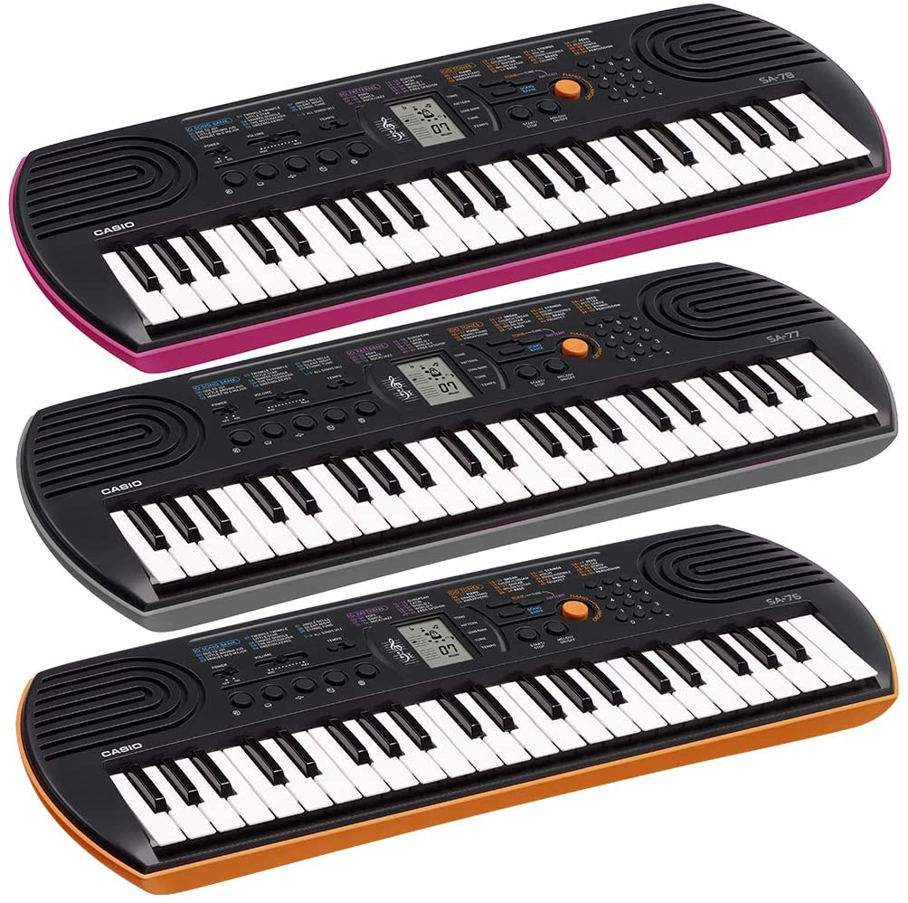 Review of Casio SA-78 44-Key Mini Personal Keyboard