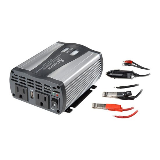 Review of Cobra CPI 480 400-Watt 12-Volt DC to 120-Volt AC Power Inverter with 5-Volt USB Output