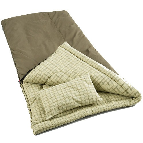 Coleman Big Game Sleeping Bag with Pillow - Reviews of Top 10 Fishing Gears - Go Fishing!