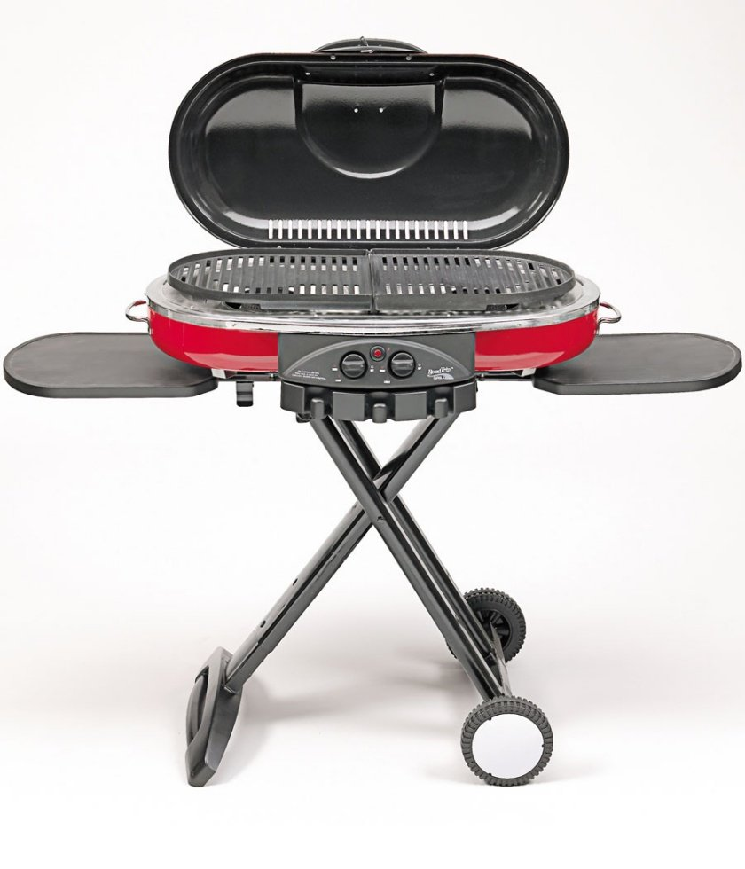 Coleman RoadTrip LXE Propane Grill - Reviews of Enjoy your Summer Camping Trips with these Top 20+ Camping and Hiking Supplies