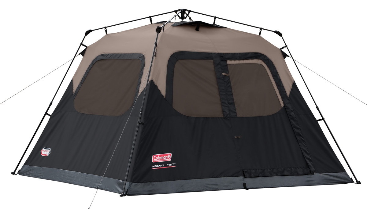 Coleman Instant Set-Up 6-Person Tent, 10' x 9' - Reviews of Top 15 Mother's Day Gift Ideas for Active and Outdoorsy Moms