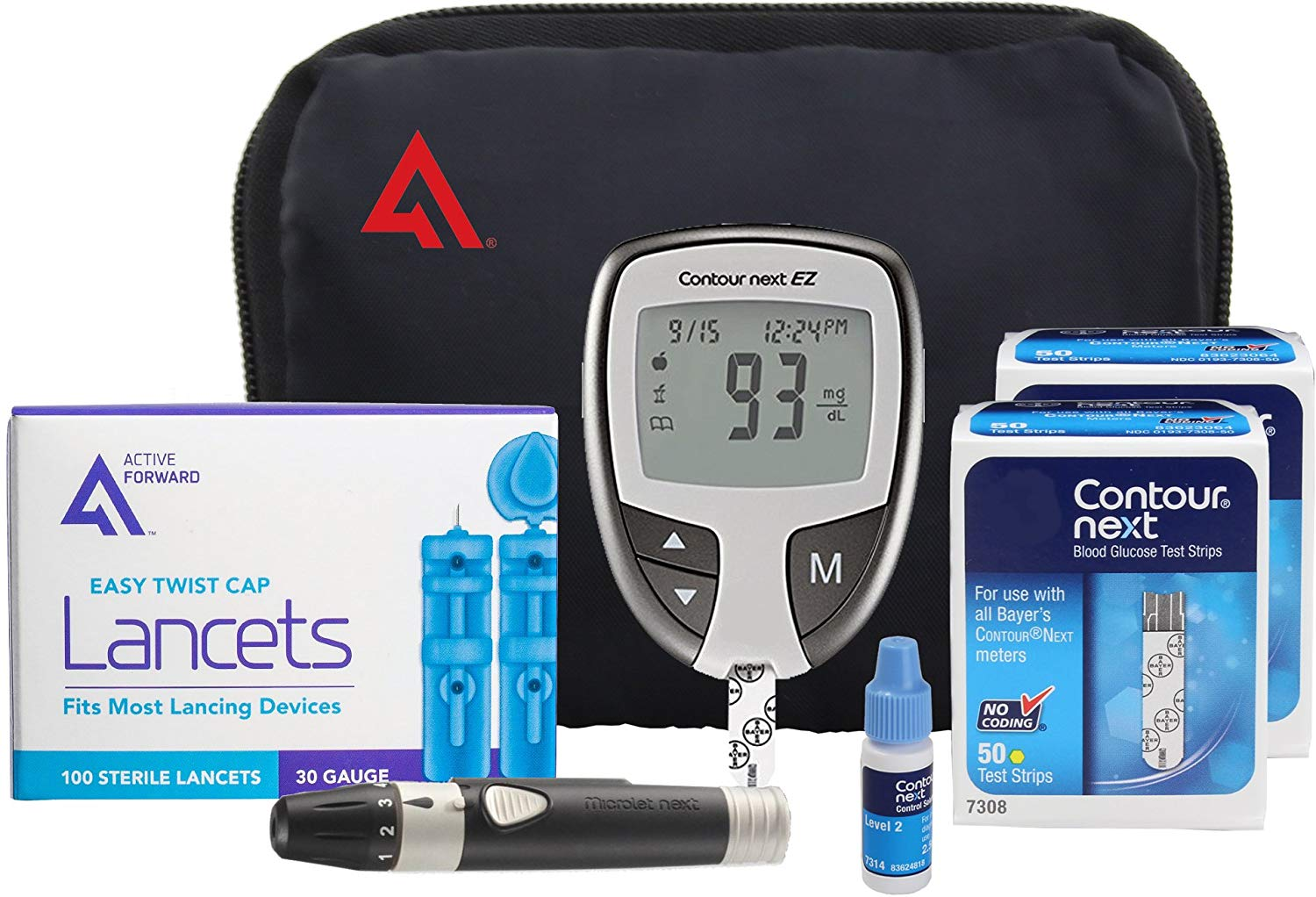 Review of Contour NEXT EZ Diabetes Testing Kit