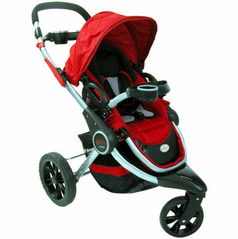 Review of Contours Options 3 Wheel Stroller