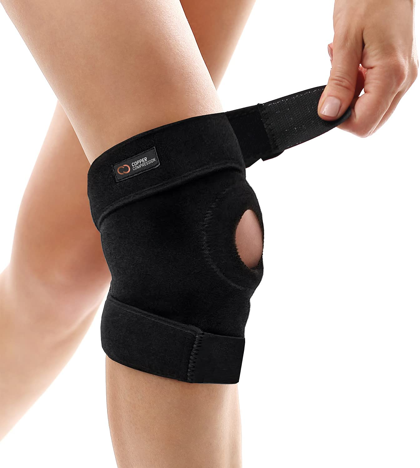 Review of Copper Compression Extra Support Knee Brace