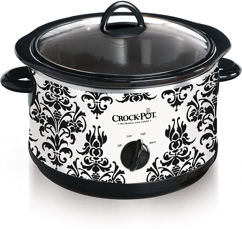 Review of Crock Pot 4.5 Quart Manual Slow Cooker, Damask Pattern