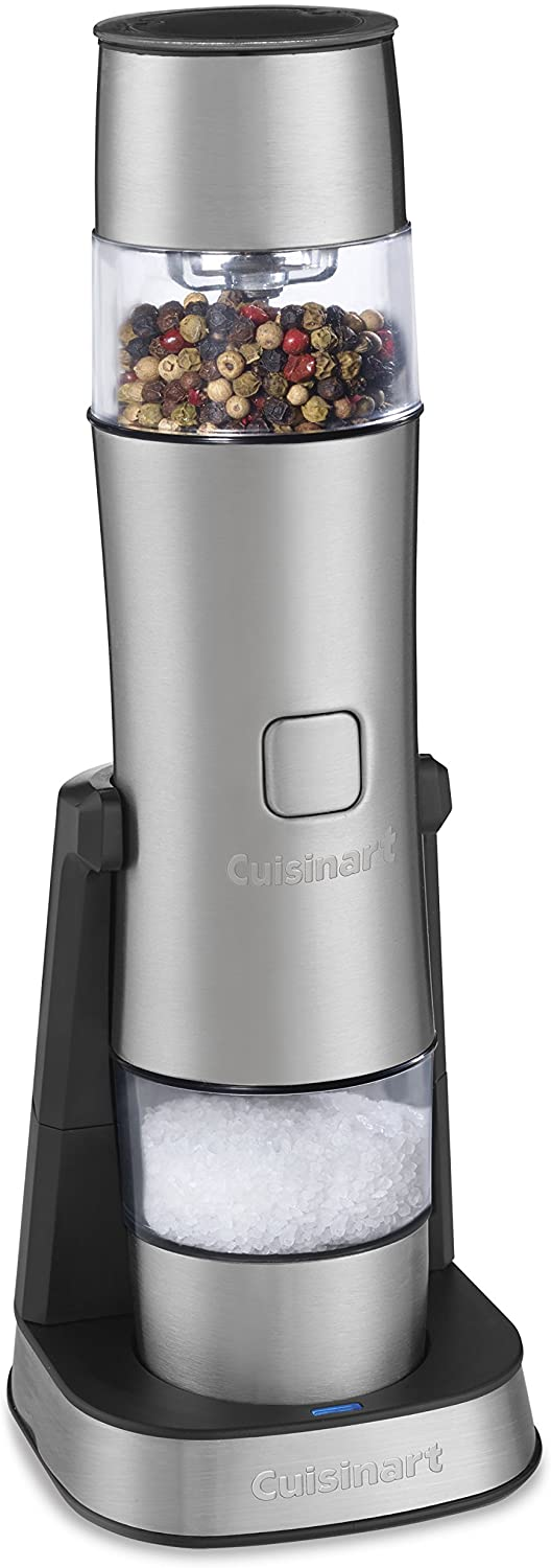 Review of Cuisinart SG-3 Stainless Steel Rechargeable Salt, Pepper and Spice Mill