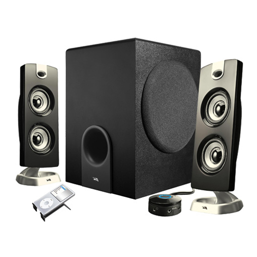 Review of Cyber Acoustics Subwoofer Satellite System CA-3602