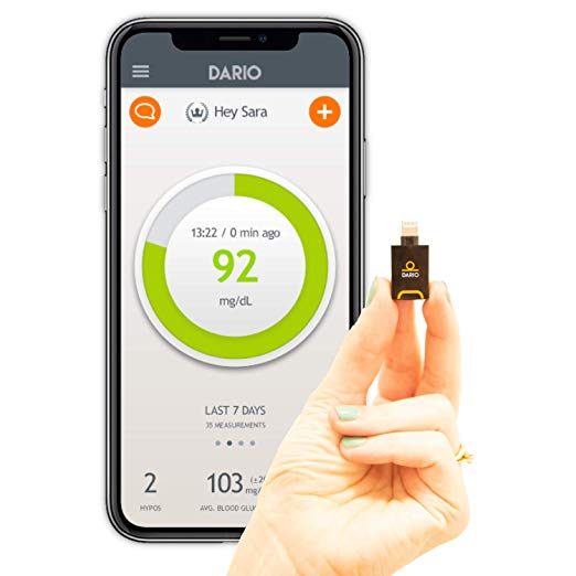 Review of Dario LC Blood Glucose Meter Starter Kit for iPhone
