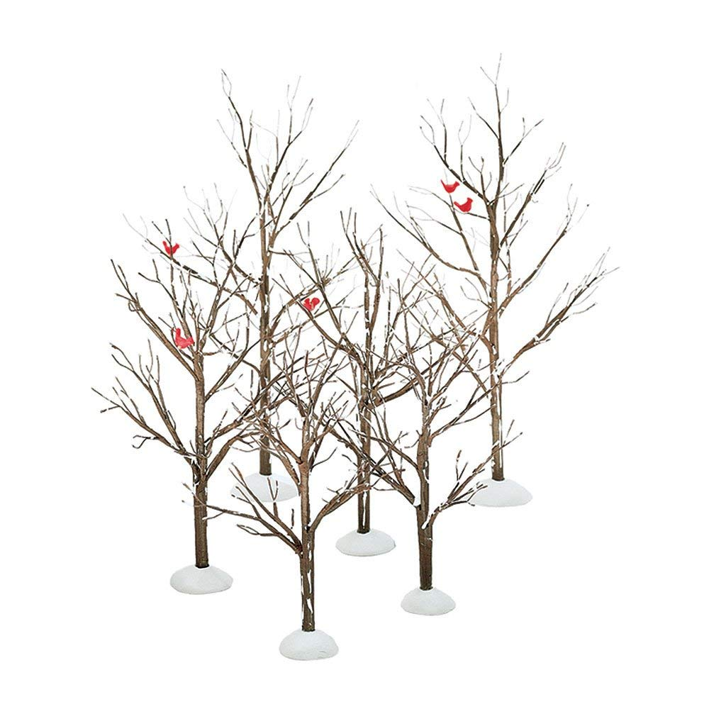 Review of Department 56 Village Bare Branch Trees Accessory Figurine (Set of 6)