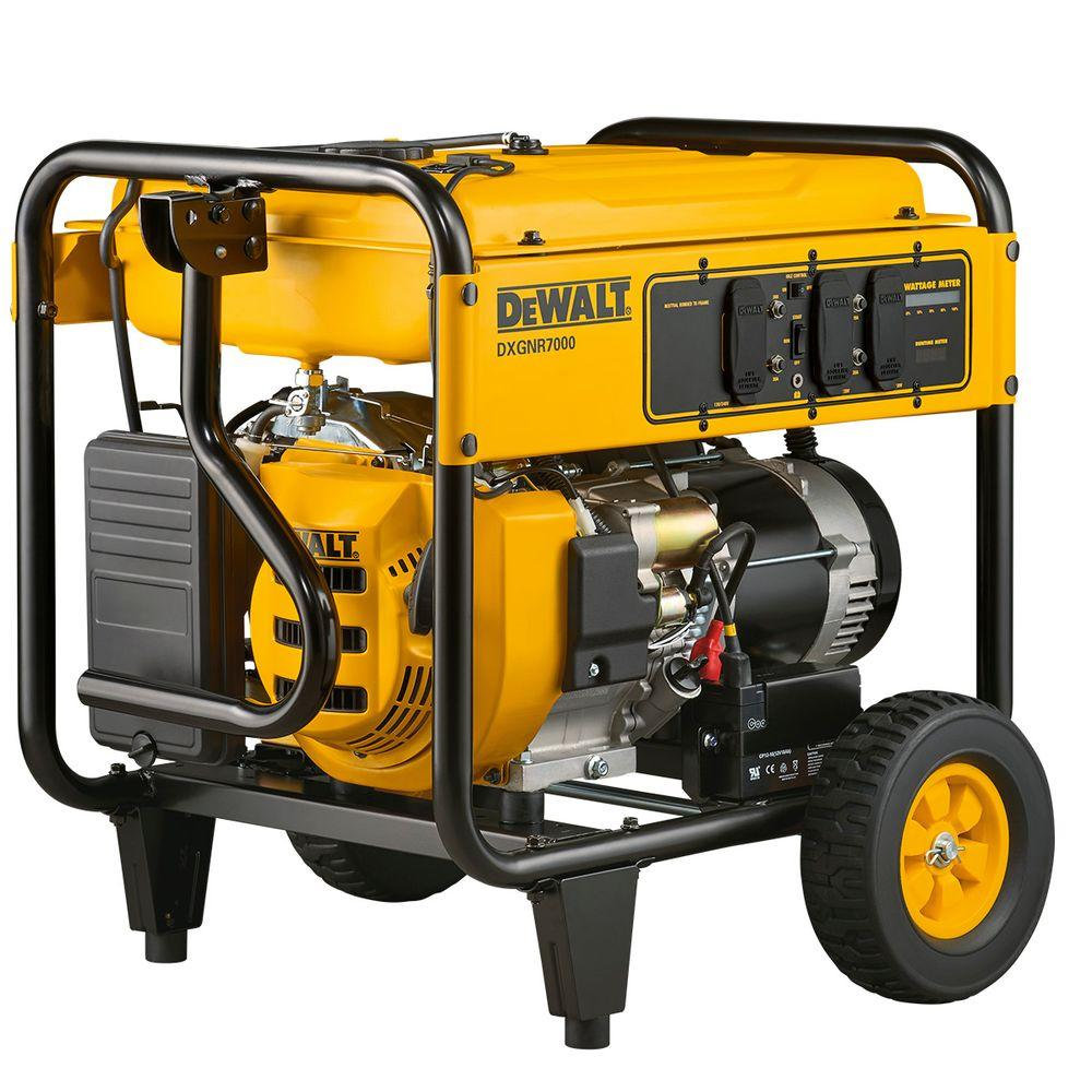 Review of DEWALT 7,000-Watt Electric Start Gasoline Powered Portable Generator 50-ST/CARB