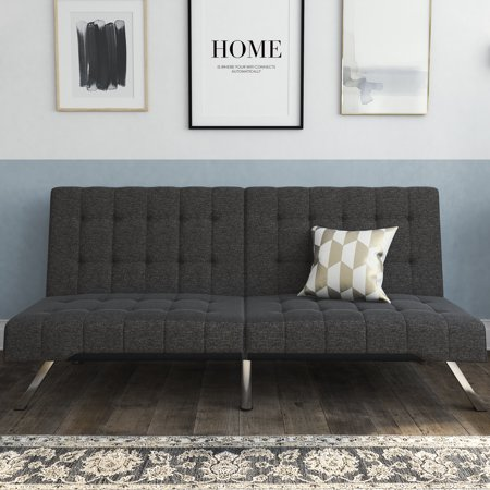 Review of DHP Emily Convertible Futon Sofa Couch, Multiple Finishes