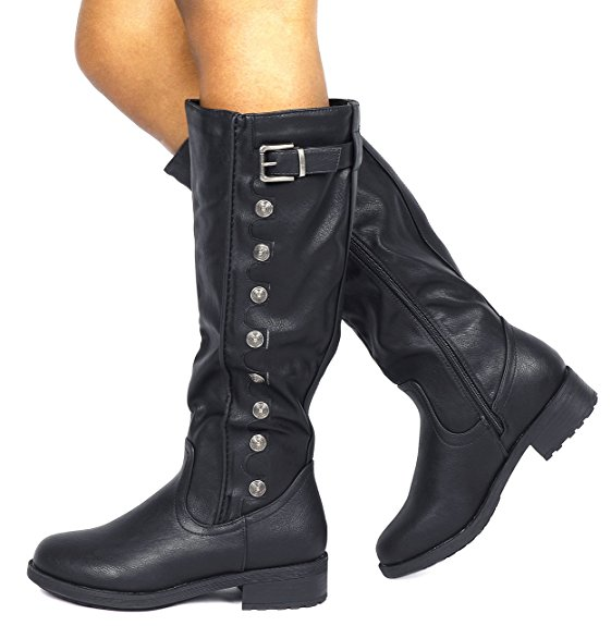Dream Pairs Women's Knee High Riding Boots (Wide Calf Available) - Top 10 Mother's Day Gift Ideas