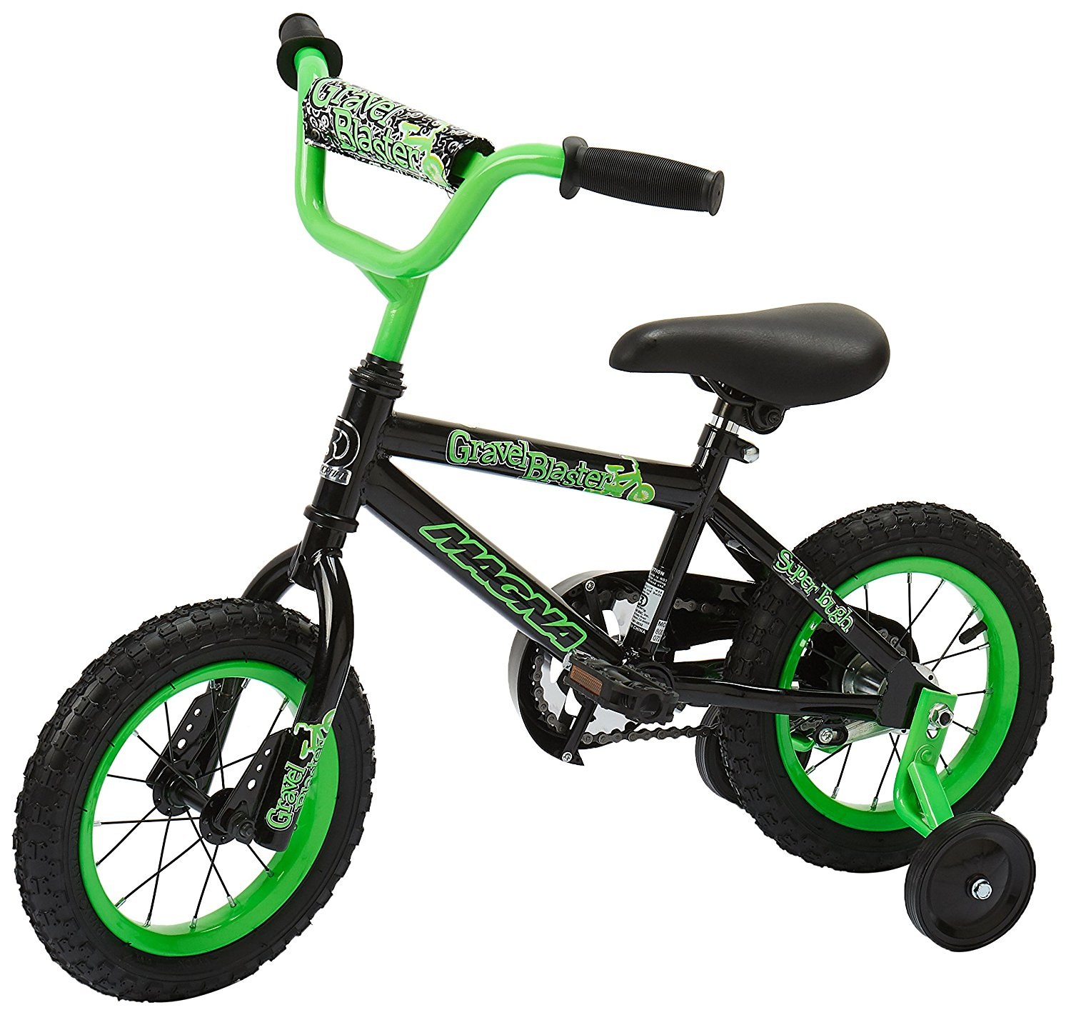 Review of Dynacraft Magna Gravel Blaster Boys BMX Street/Dirt Bike 12