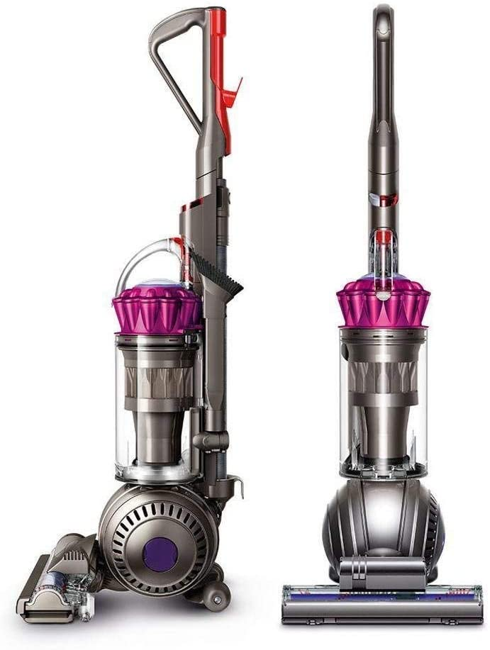 Review of Dyson Ball Multi Floor Origin High Performance HEPA Filter Upright Vacuum Fuchsia - Corded