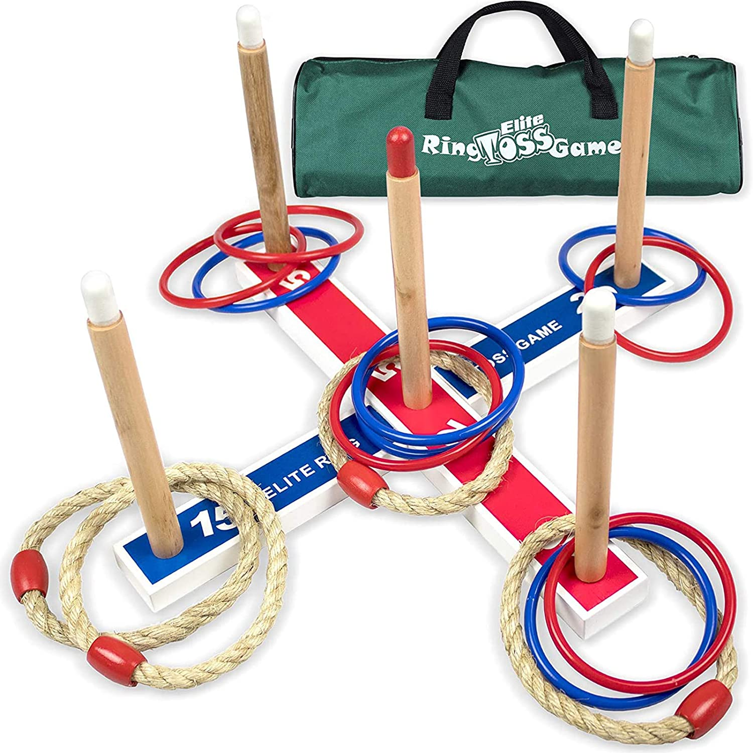 Elite Outdoor Ring Toss Yard Games For Kids
