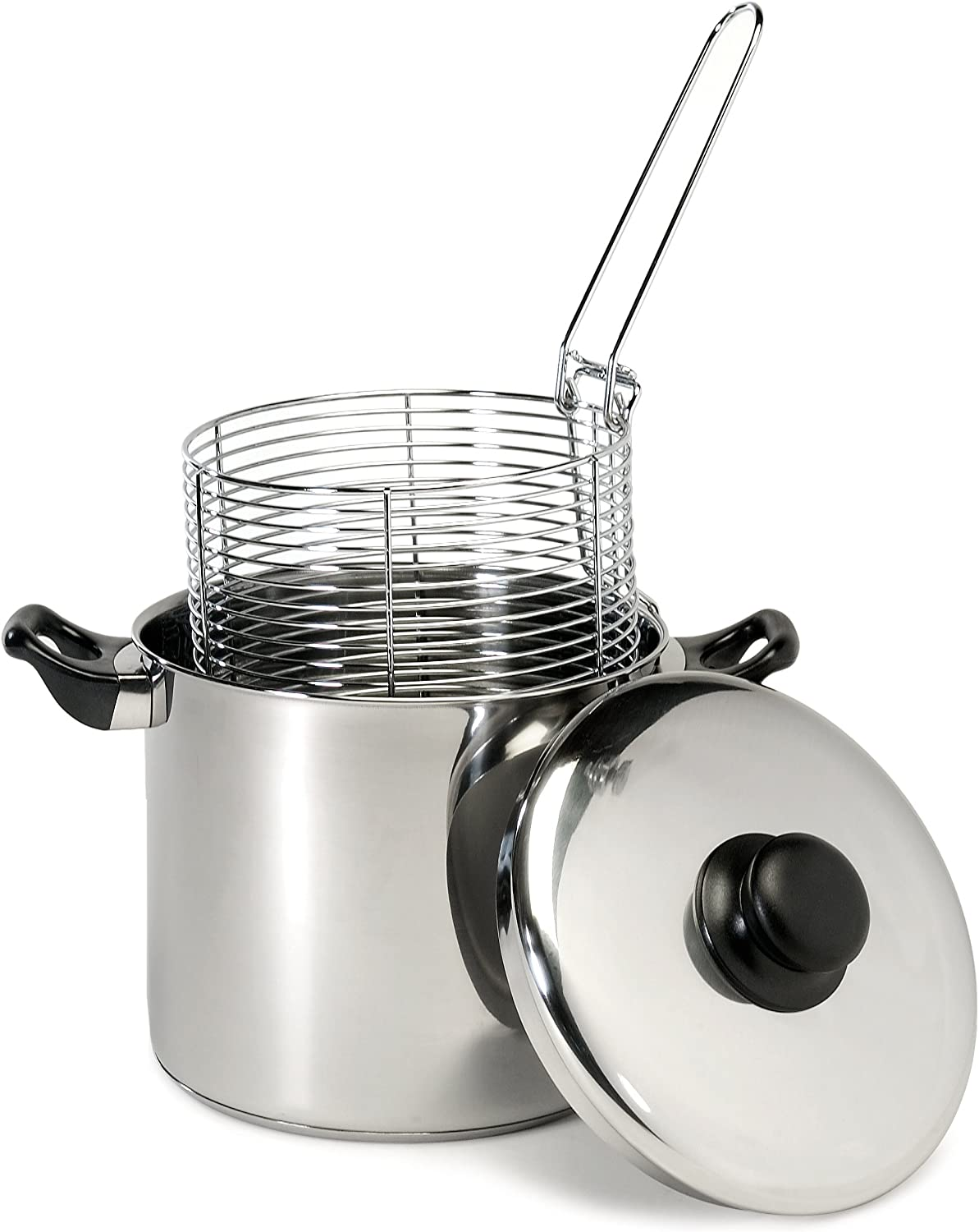Review of Excelsteel 6 Quart Stainless Steel Stove Top Deep Fryer