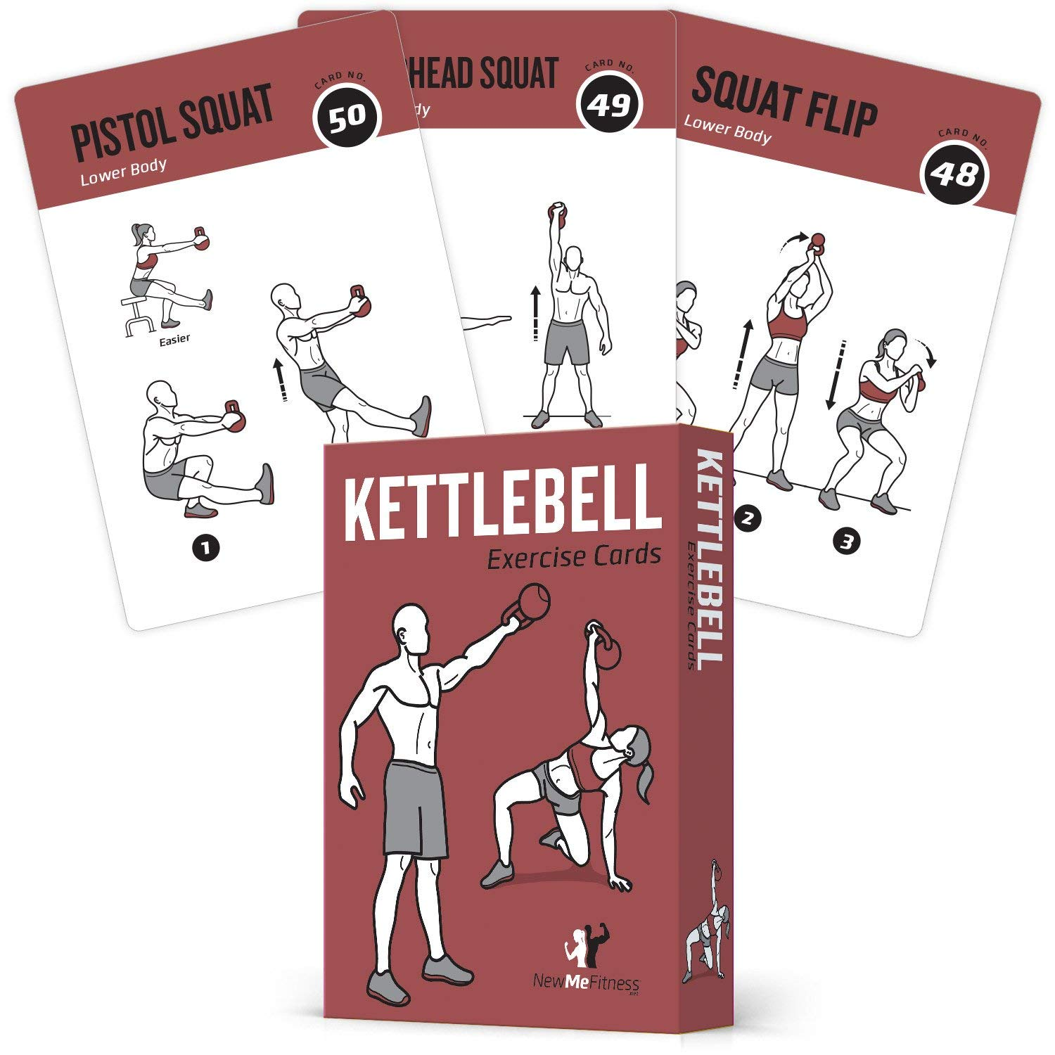 Review of Exercise Cards Kettlebell - Home Gym Workouts HIIT Strength Training
