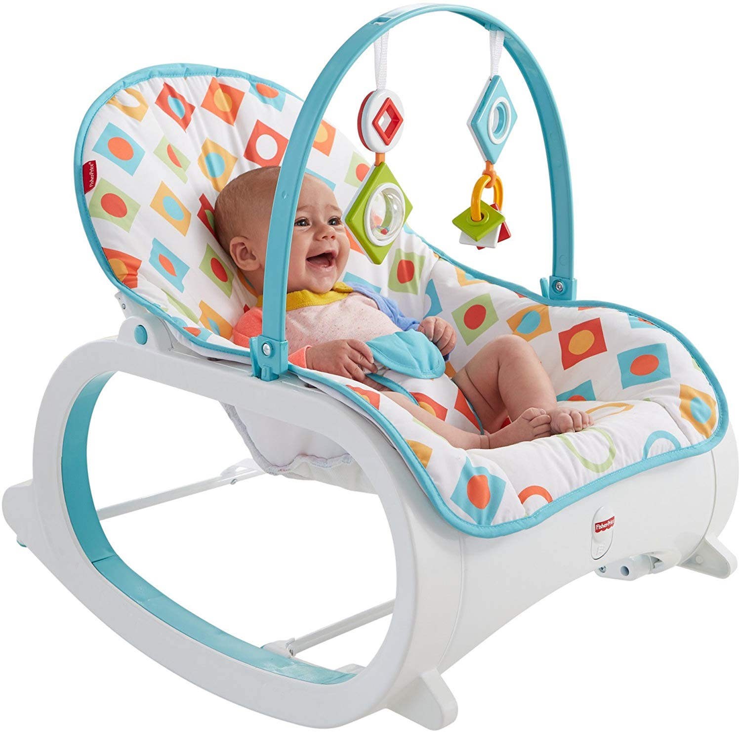Review of Fisher-Price Infant-to-Toddler Rocker - Geo Diamonds