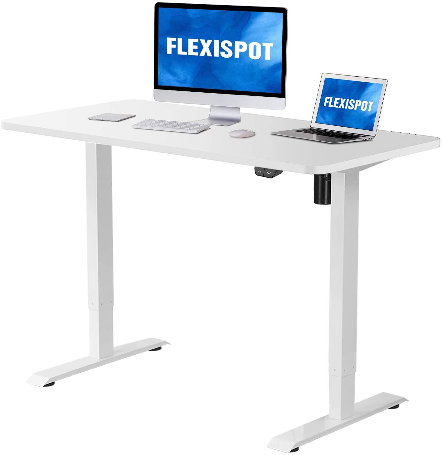 Flexispot Electric Standing Desk Height Adjustable Desk, 48 x 30 Inches Sit Stand Desk