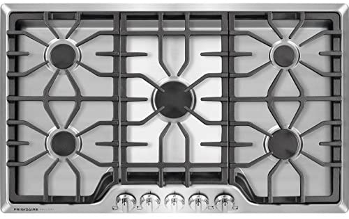Review of Frigidaire Gallery 36 Inch Stainless Steel Gas Cooktop, FGGC3645QS