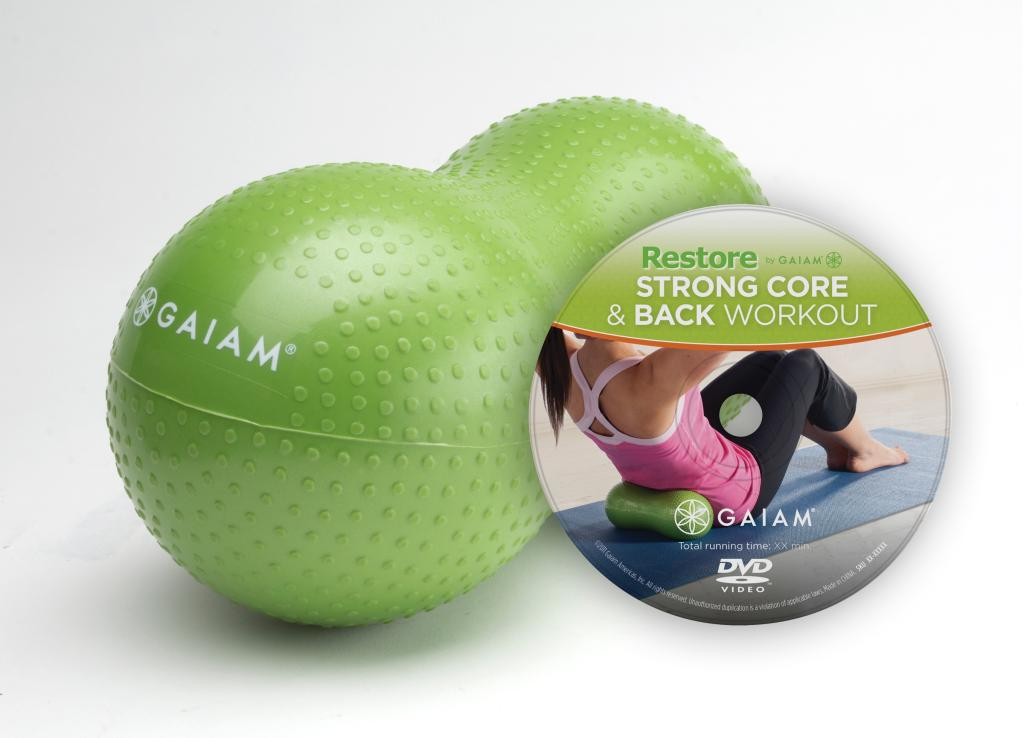 Gaiam Restore Strong Core & Back Care Kit w/ DVD - Reviews of Top 10 Most Popular Yoga Items