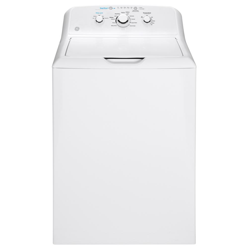 Review of GE 4.2 cu. ft. White Top Load Washing Machine with Stainless Steel Basket