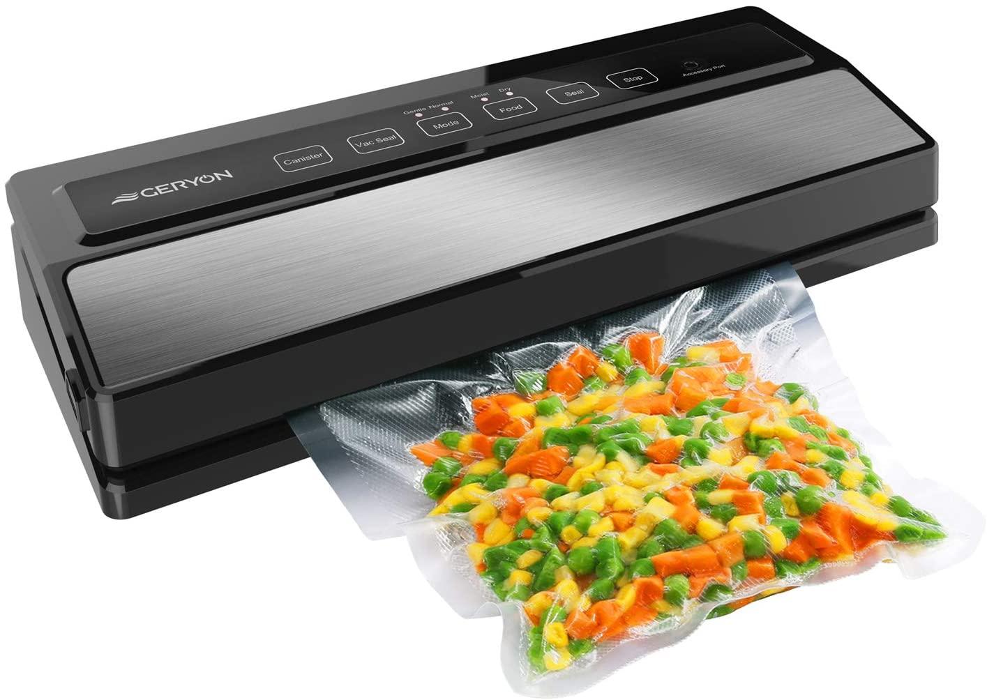 Review of GERYON Vacuum Sealer Machine, Automatic Food Sealer