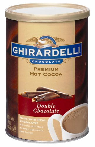 Ghirardelli Chocolate Premium Hot Cocoa Mix, Double Chocolate