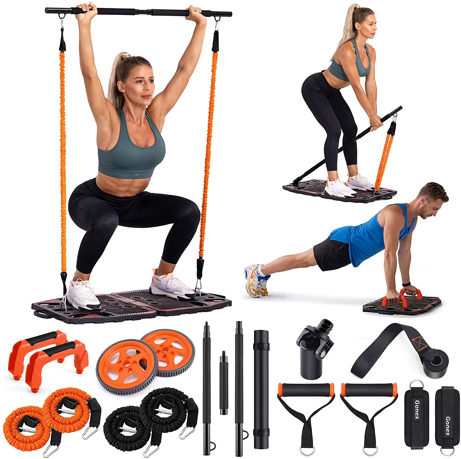 Review of Gonex Portable Home Gym Workout Equipment