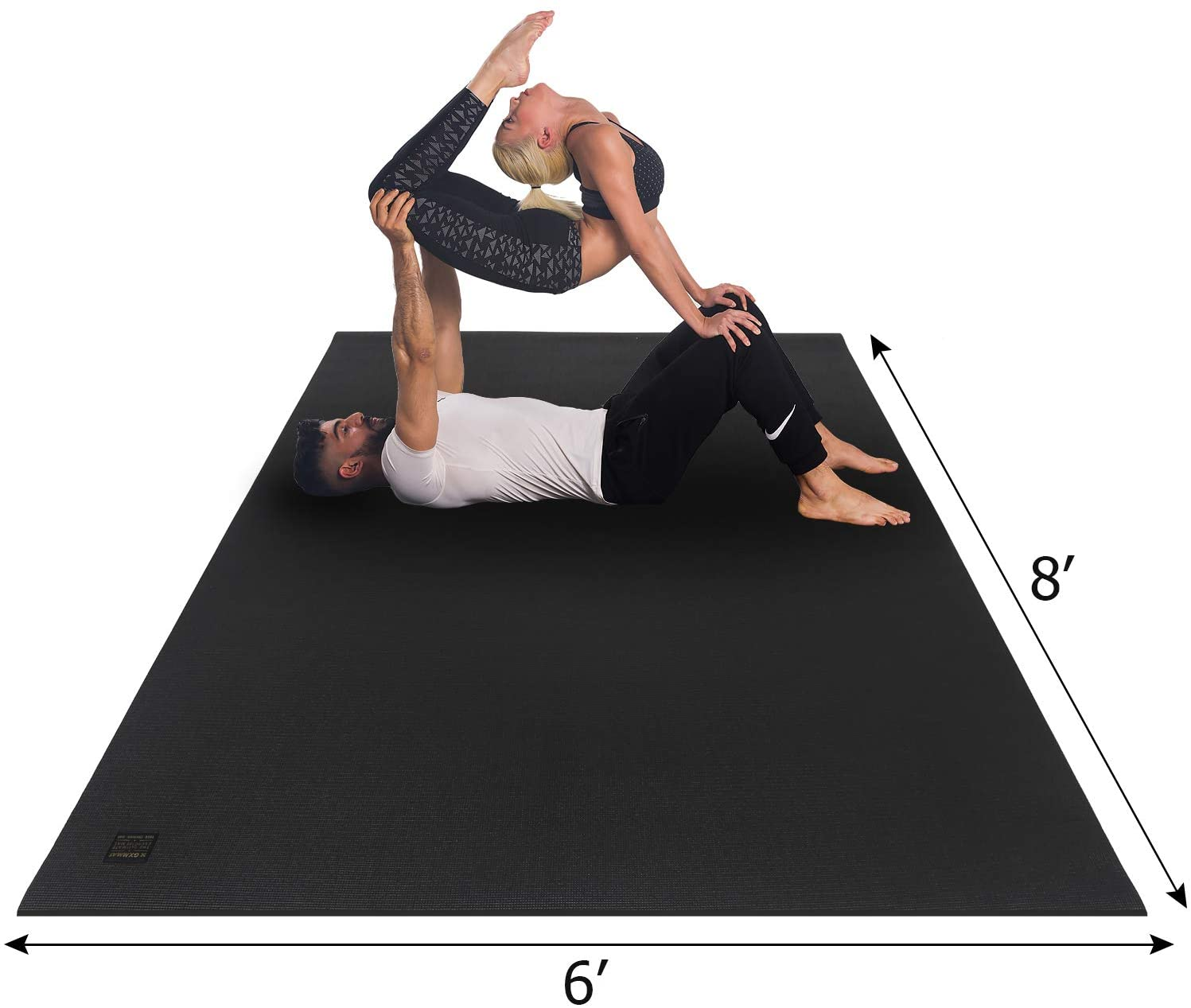 Review of GXMMAT Extra Large Yoga Mat 6'x8'x7mm