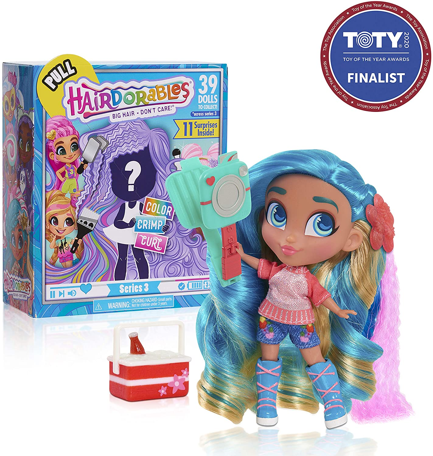 Review of Hairdorables Collectible Dolls Series 3