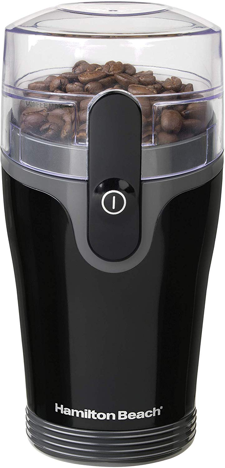 Hamilton Beach Fresh Grind 4.5oz Electric Coffee Grinder for Beans, Spices and More (80335R)