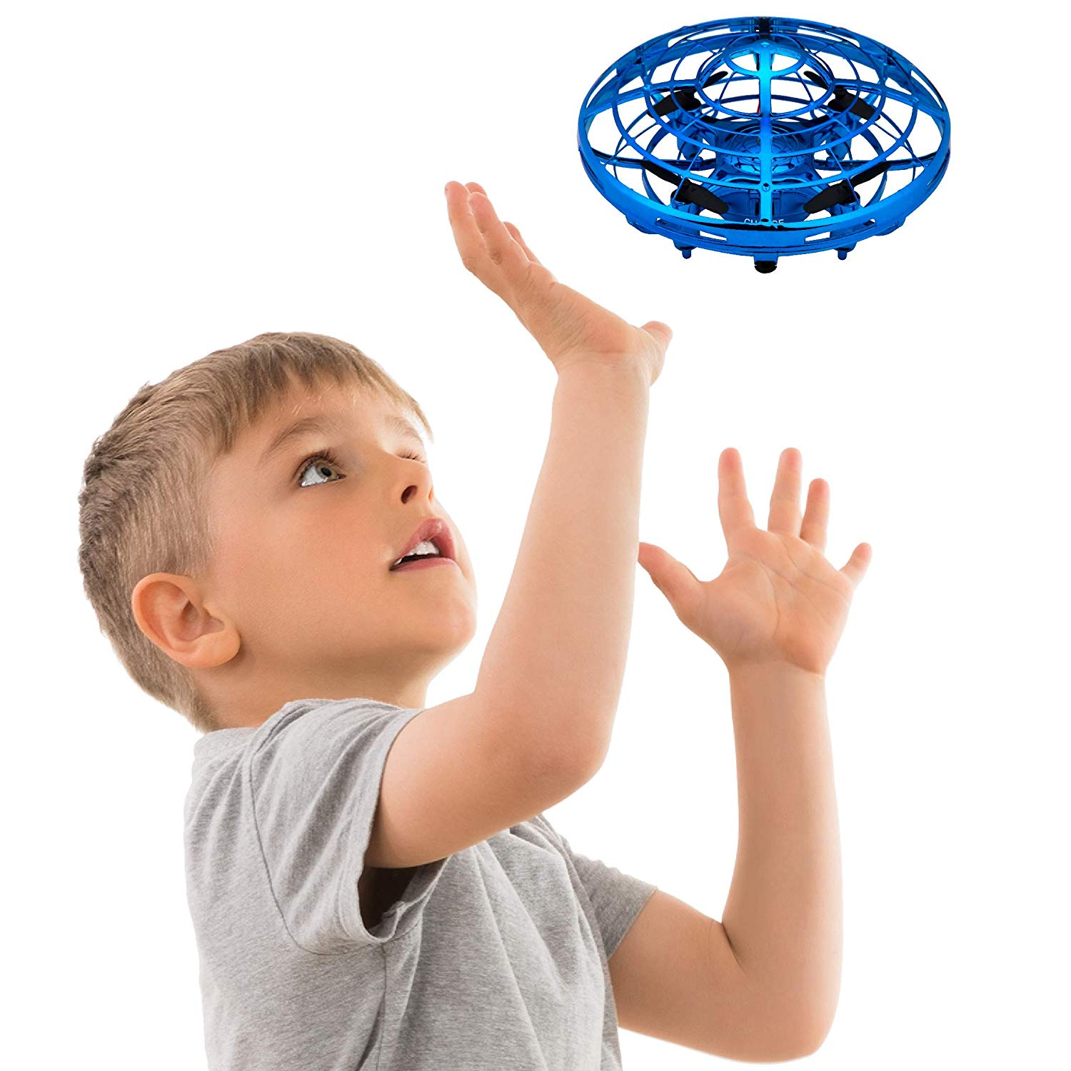 Review of Hand Operated Drones for Kids or Adults - Scoot Hands Free Mini Drone Helicopter