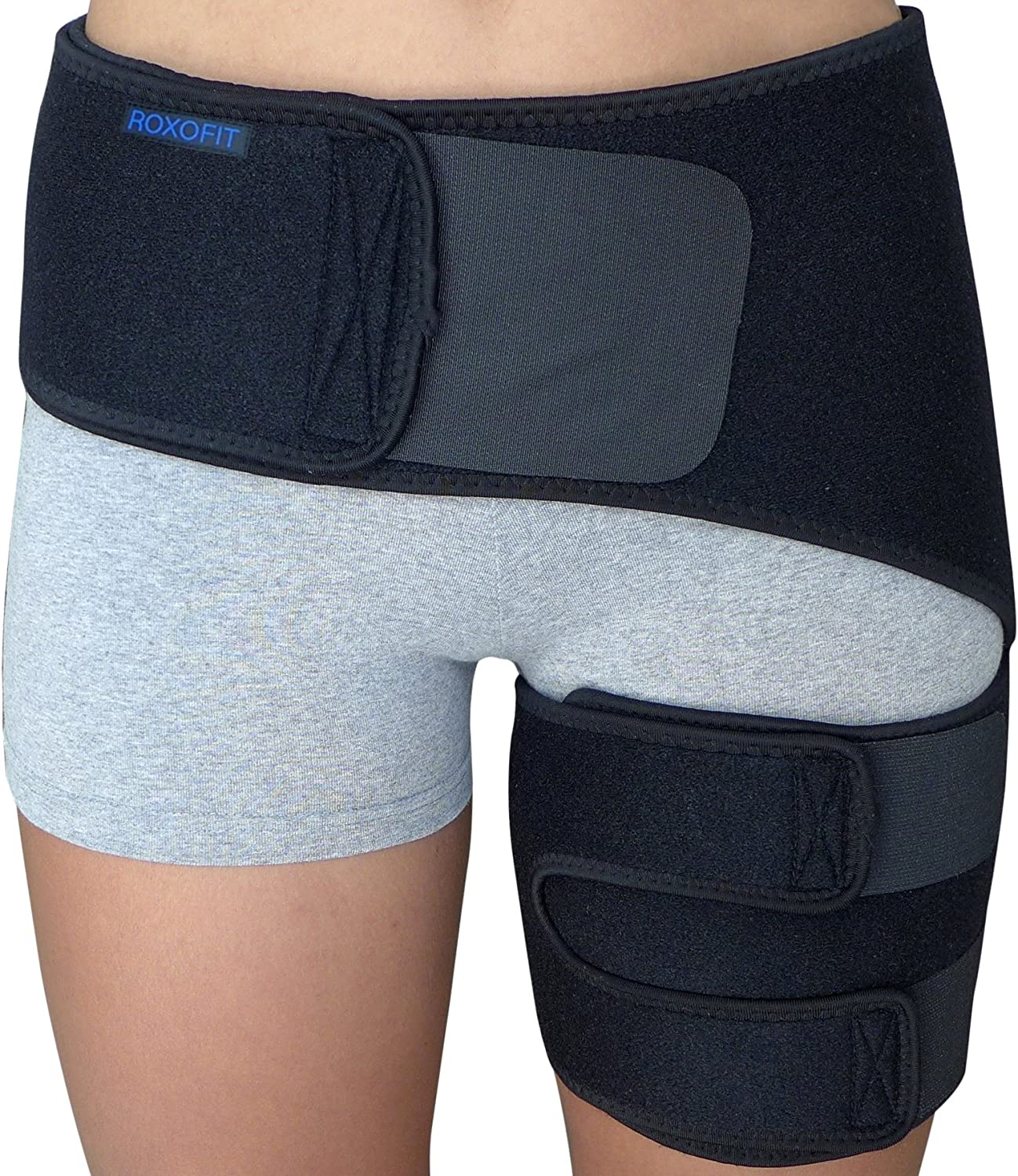 Review of Hip Brace - Sciatica Pain Relief Brace - Groin Thigh Hamstring Compression