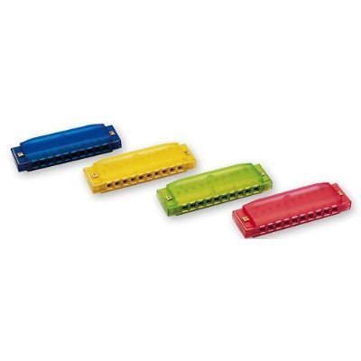 Review of Hohner Kids Clearly Colorful Translucent Harmonica ...
