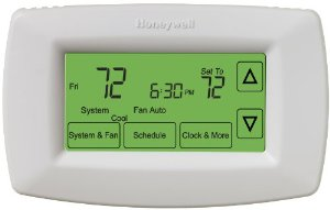 Review of Honeywell RTH7600D Touchscreen 7-Day Programmable  ...