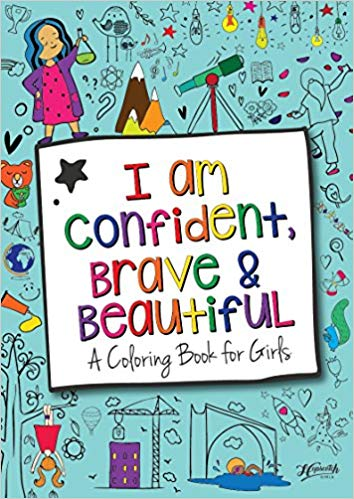 Review of I Am Confident, Brave & Beautiful: A Coloring Book for Girls