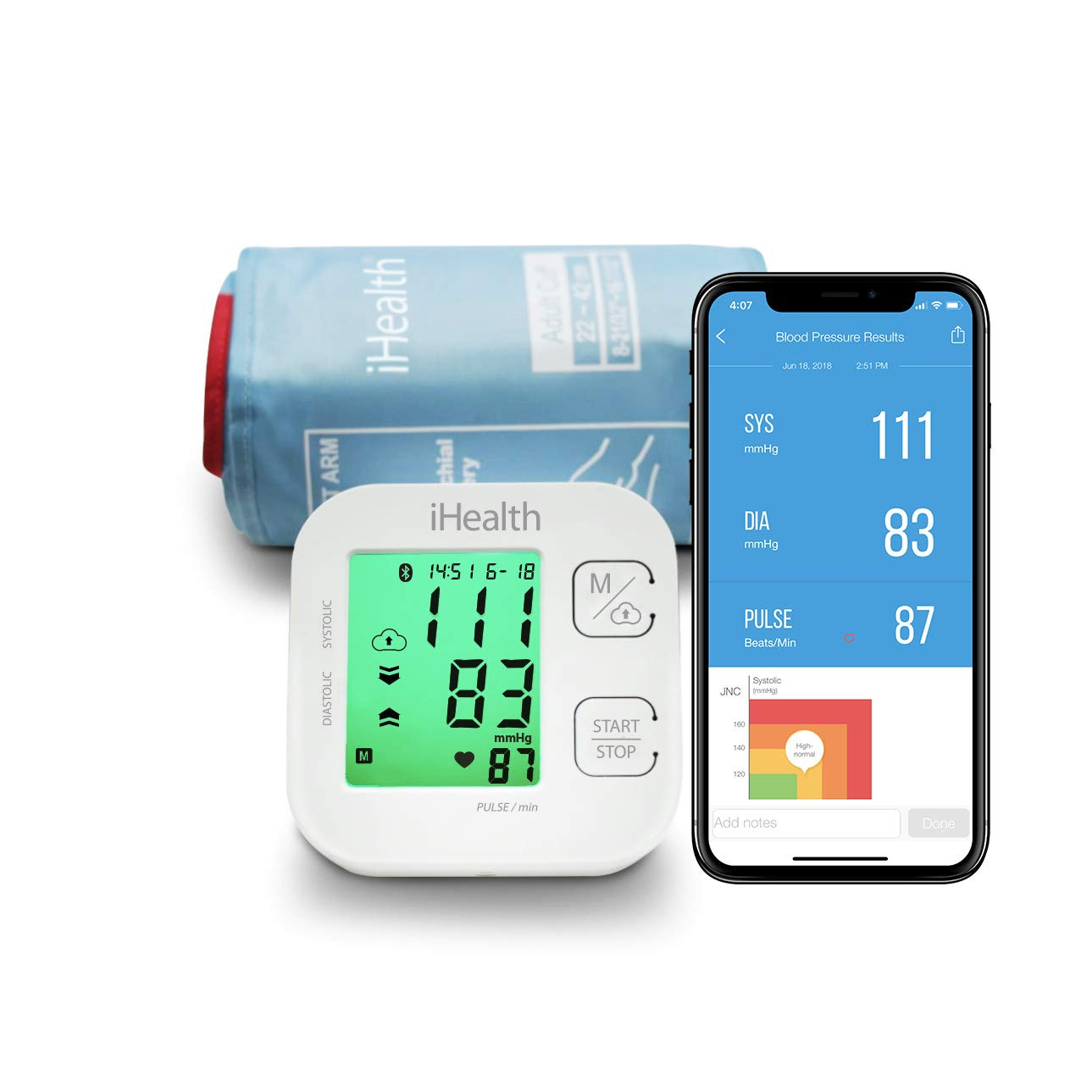 Review of iHealth Track Wireless Bluetooth Blood Pressure Monitor Cuff