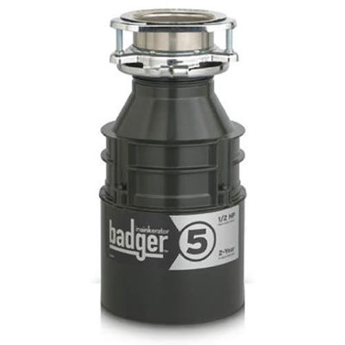 Review of InSinkErator Badger 5 Garbage Disposal, 1/2 HP Food Waste Disposal Unit
