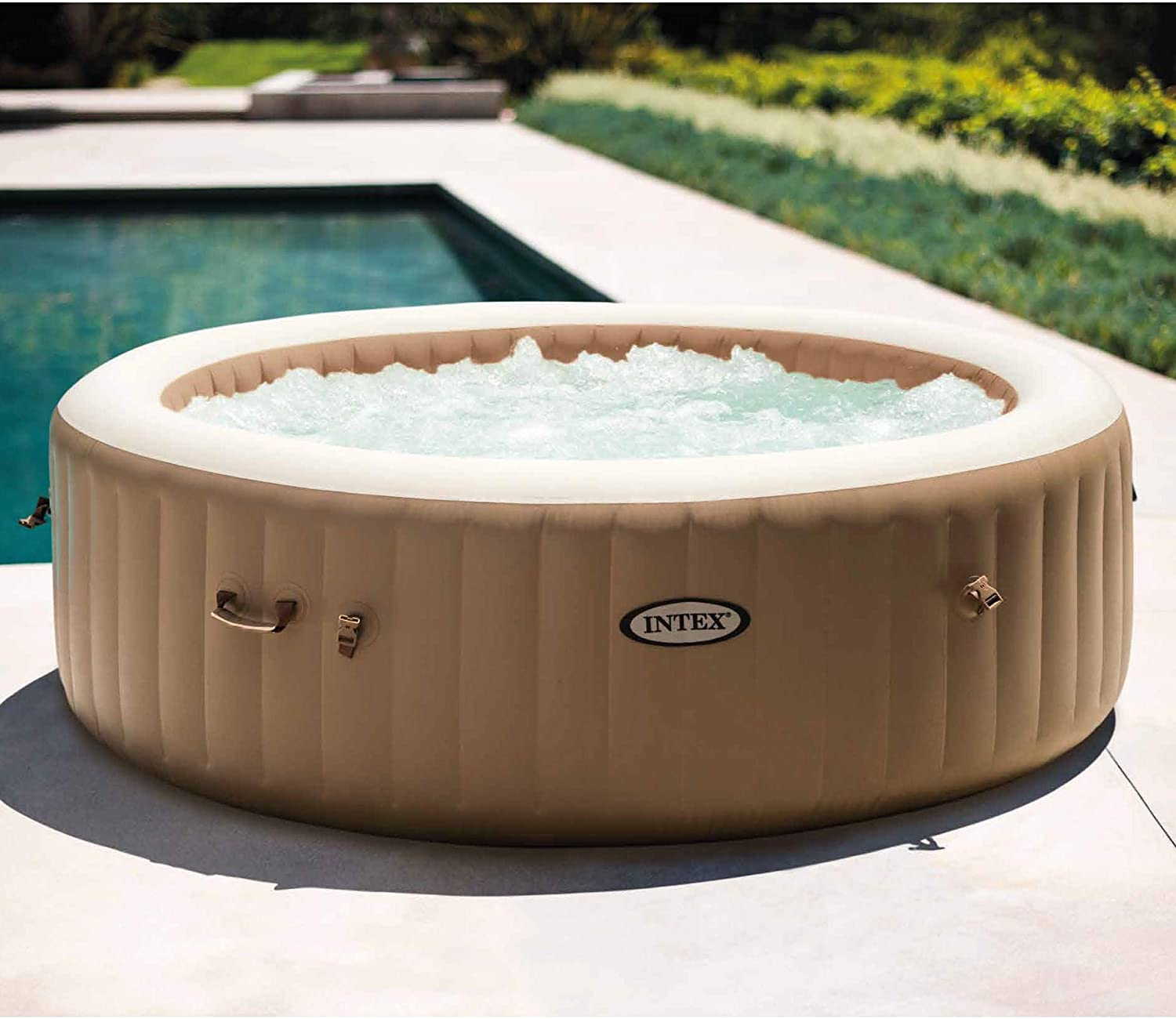 Review of Intex 28427E 85in PureSpa Inflatable Spa, 6-Person