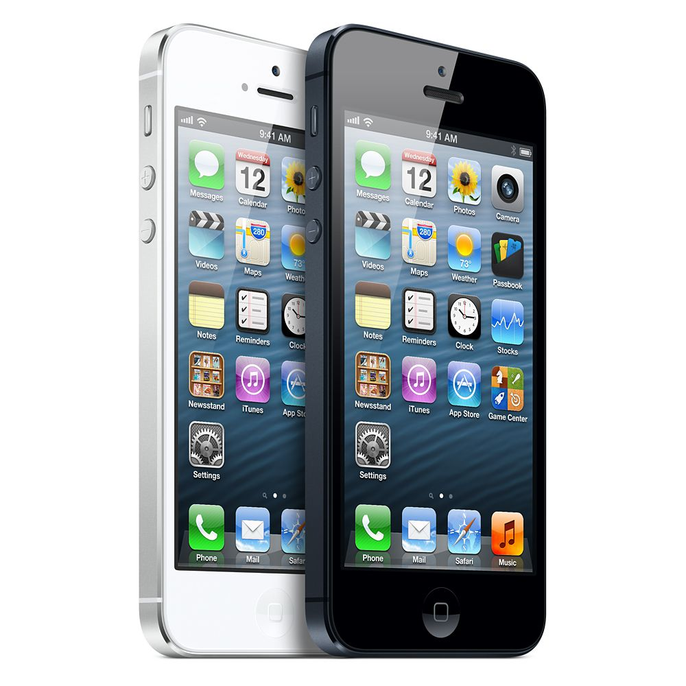 Apple iPhone 5  - Reviews of Top 10 Father's Day Gift Ideas for Geek Dads